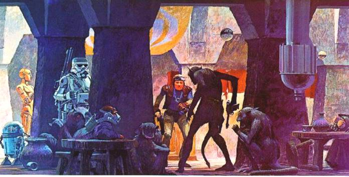 Ralph McQuarrie's Star Wars Cantina